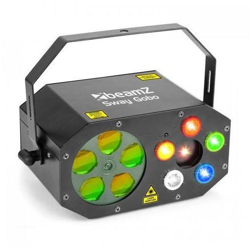 Beamz Sway gobolaser gobo rgbwa stroboskop rgbwa i laser rg pilot