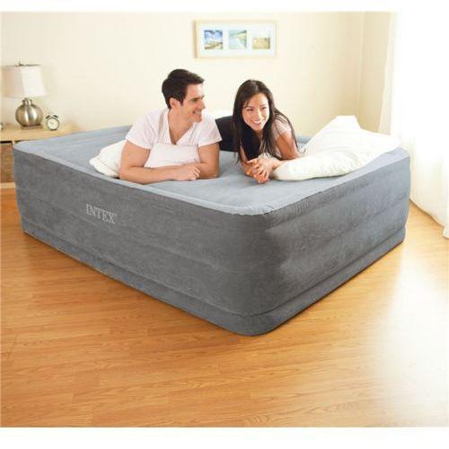 Intex 64418 pompa powietrza łóżko Comfort Plush High Rise airbed Kit
