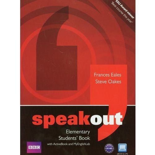 Speakout Elementary Students' Book With Activebook And Myenglishlab Z Płytą Dvd (176 str.)