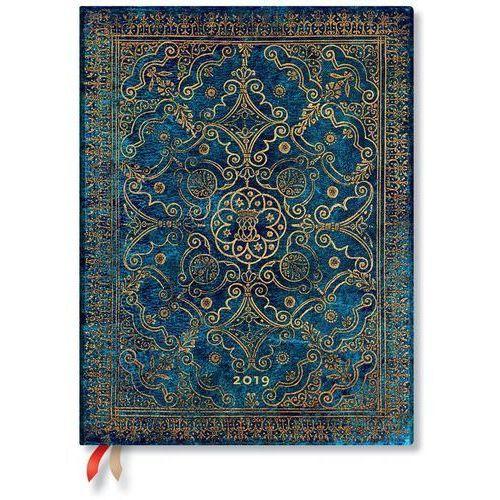 Kalendarz książkowy ultra 2019 12m azure marki Paperblanks