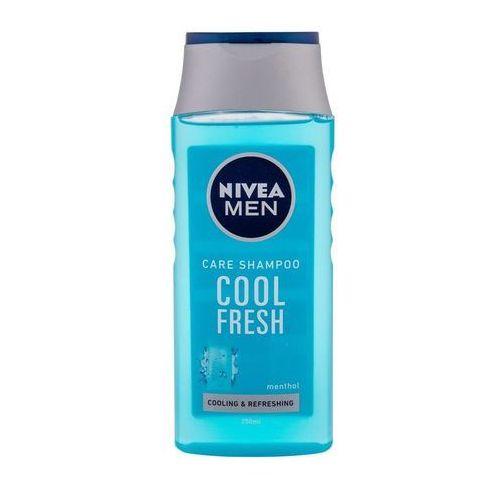Nivea men cool szampon do włosów normalnych i przetłuszczających się (cool fresh) 250 ml