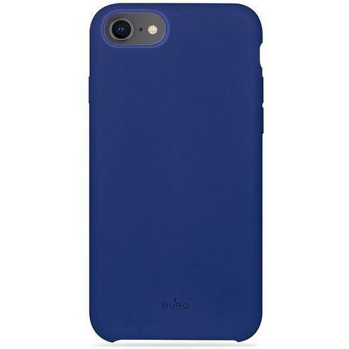 PURO ICON Cover - Etui iPhone 8 / 7 / 6s / 6 (niebieski) Limited edition, kolor niebieski