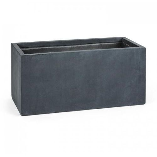 Blumfeldt Solidflor Doniczka/pojemnik na rośliny 99x46x46 cm Fiberton antracyt