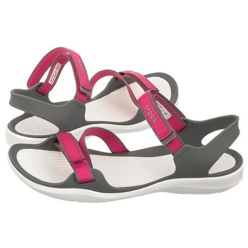 Sandały Crocs Swiftwater Webbing Sandal Paradise Pink/Smoke 204804-6OH (CR147-a), 204804-6OH