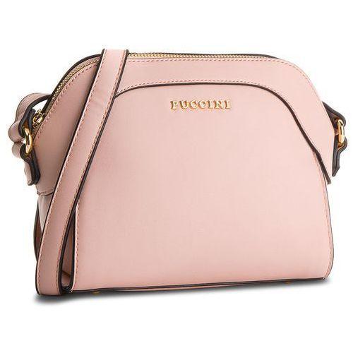 Torebka PUCCINI - BT18495 Pink 3C, kolor różowy
