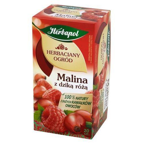 Herbata eksp. ogród - malina dz.róż op.20 marki Herbapol