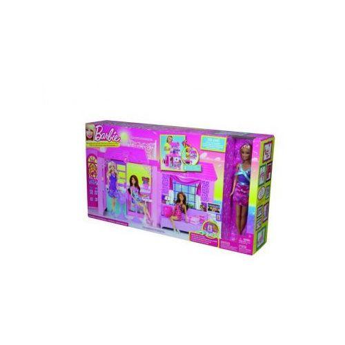 Domek i lalka Barbie (domek dla lalek) od Taniej.pl