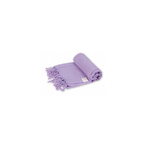 Sauna ręcznik hammam 100%bawełna 185/90 ajur 6 fiolet marki Import
