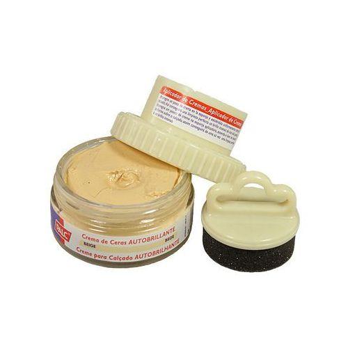 pasta słoik 50 ml beżowy, pasta samopołyskowa w kremie z aplikatorem - beżowy marki Palc