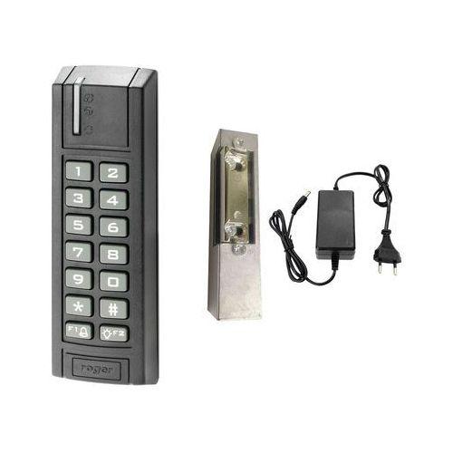 Zestaw kontroli dostępu Roger Zamek kodowy SL2000E Elektrozaczep Zasilacz