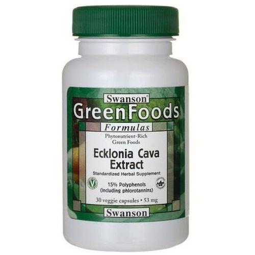 Swanson ecklonia cava extract 53 mg 30 kapsułek marki Swanson health products