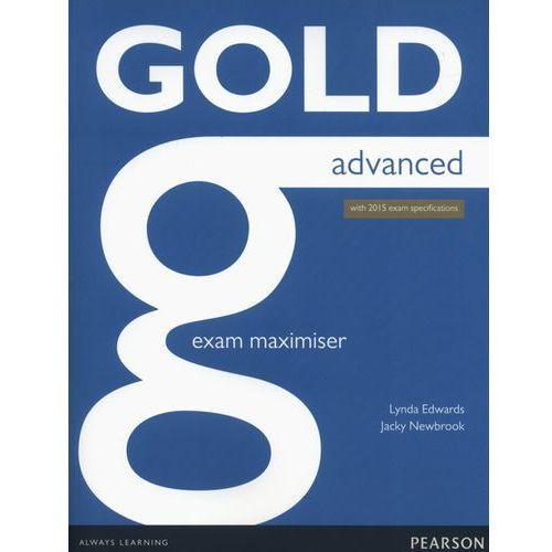 Gold Advanced. Ćwiczenia bez Klucza + Audio Online, Lynda Edwards, Jacky Newbrook