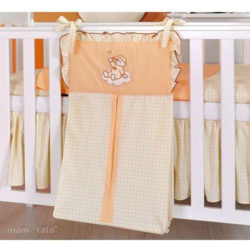torba na pampersy śpioch na chmurce brzoskwiniowy marki Mamo-tato