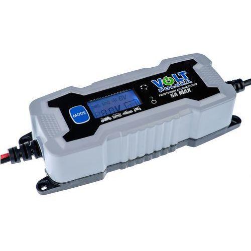 Prostownik automatyczny VOLT 5A LCD 6V/12V