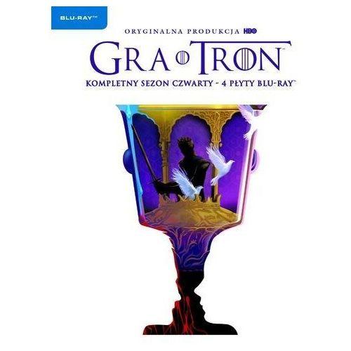 Gra o tron, sezon 4 (4 bd) edycja limitowana (płyta bluray) marki D.b. weiss