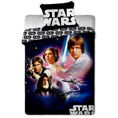Dziecięca bawełniana pościel Star Wars 01, 140 x 200 cm, 70 x 90 cm, Jerry Fabrics