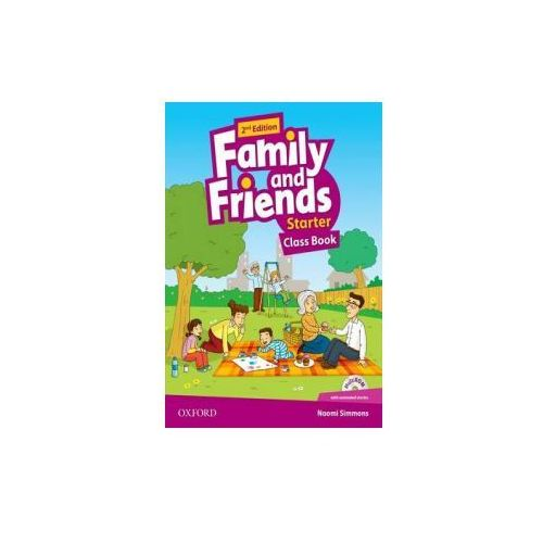 Family and Friends: Starter: Class Book Pack (9780194808286)