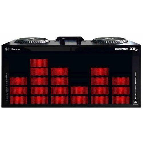 głośnik imprezowy domowy xd3, czarny, idan352001 marki Idance