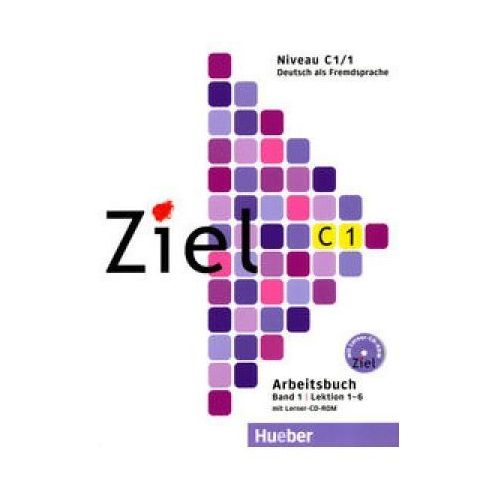 Ziel C1 Band 1 Pakiet - Kursbuch + Arbeitsbuch + CD-ROM Hueber
