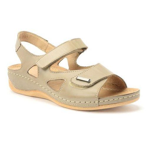 Sandały Pollonus 5-0994-001 Capuccino, kolor beżowy