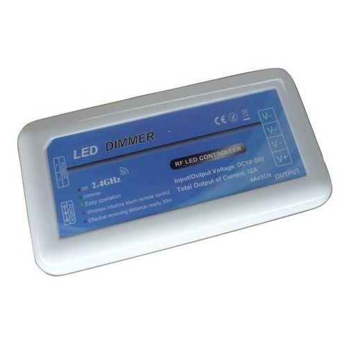 ŚCIEMNIACZ kontroler taśma LED RADIOWY 3 STREFOWY, FLS01184