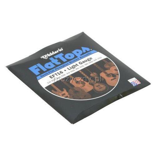 D′Addario EFT-16 Flat Top struny do gitary akustycznej 12-53