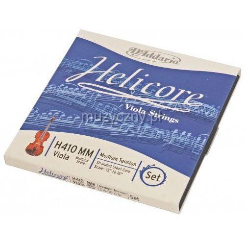 helicore h-410 medium scale struny altówkowe (medium) marki D′addario