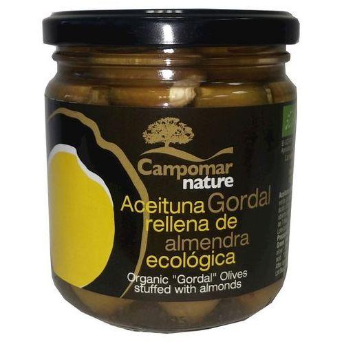 Oliwki zielone z migdałem BIO 350g - Campomar Nature
