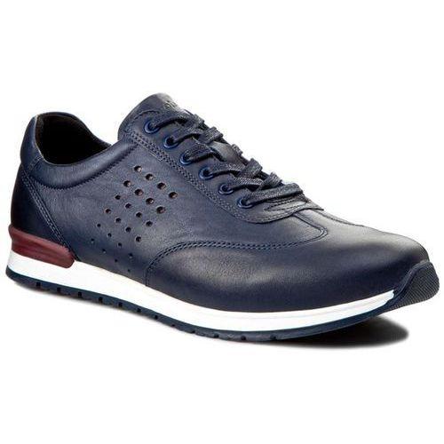 Sneakersy WOJAS - 5081-56 Granatowy/Bordowy