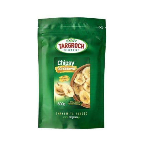 500g chipsy bananowe marki Targroch