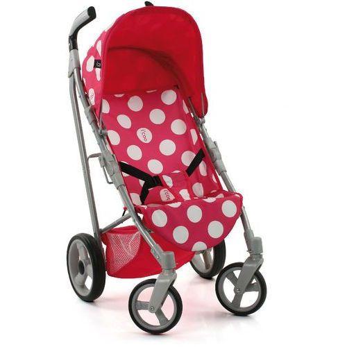 Hauck Wózek sportowy dla lalek Icoo Pluto, kropki - produkt dostępny w Mall.pl