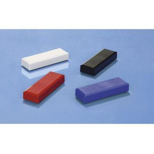 Magnes prostokątny, opak. 60 szt., dł. x szer. 53x18 mm, przyczepność 1 kg, sort marki Maul