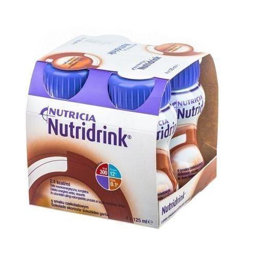Nutricia polska Nutridrink o smaku czekoladowym 4 x 125ml