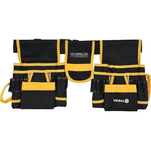 Vorel Pas narzędziowy z dwoma przesuwanymi sakwami i kieszeniami / 78752 / - zyskaj rabat 30 zł (5906083032714)