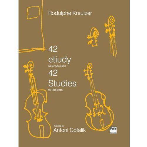 Pwm kreutzer rodolphe - 42 etiudy na skrzypce solo
