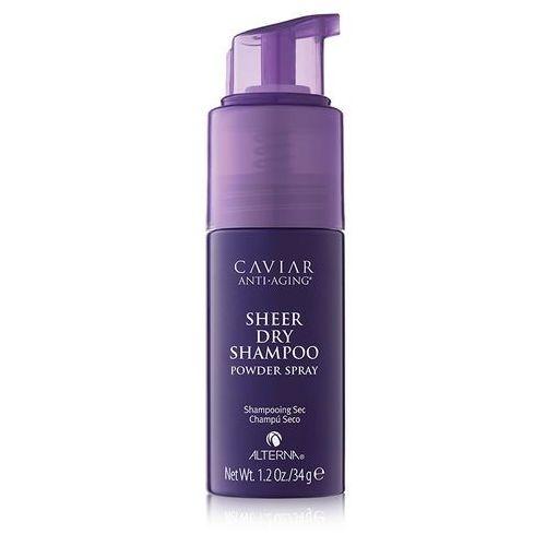 sheer dry shampoo powder spray | suchy szampon 34g marki Alterna