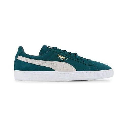 Buty Męskie Puma Sneakersy Suede Classic 356568-93 Zielone, kolor zielony