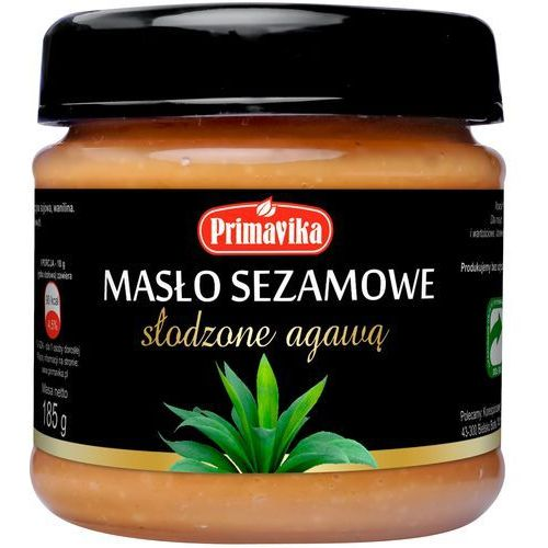 Primavika Masło sezamowe słodzone agawą 185g