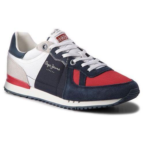 Sneakersy PEPE JEANS - Tinker PMS30415 Naval Blue 575, kolor wielokolorowy