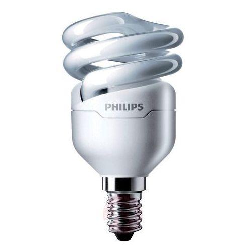 E14 8w 827 żarówka energooszczędna tornado spirala marki Philips