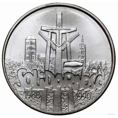 100000 zł Solidarność 1990 - wysyłka 24 h!