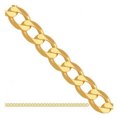 Łańcuszek złoty pr. 585 - lp1003 marki Rodium