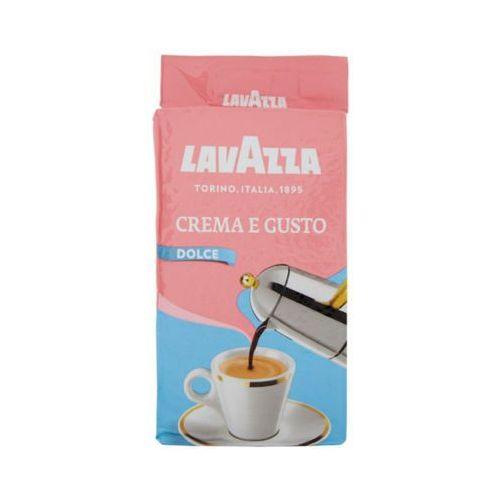 Lavazza 250g crema e gusto dolce delicato włoska kawa mielona import