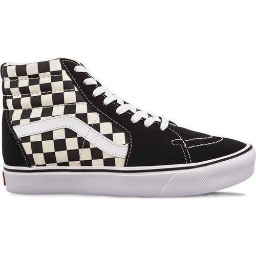 Vans sk8 hi lite 5gx checkerboard black white - buty sneakersy