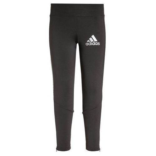 adidas Performance Legginsy utility black/reflective silver (legginsy dziecięce)