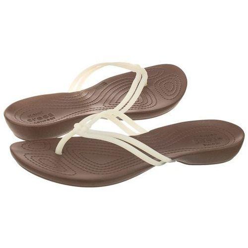 Japonki Crocs Isabella Flip W White/Bronze 204004-1AO (CR115-b), 204004-1AO
