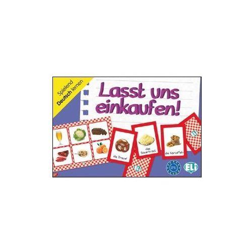 Gra językowa Niemiecki Lasst und einkaufen!. Opr. karton, ELI