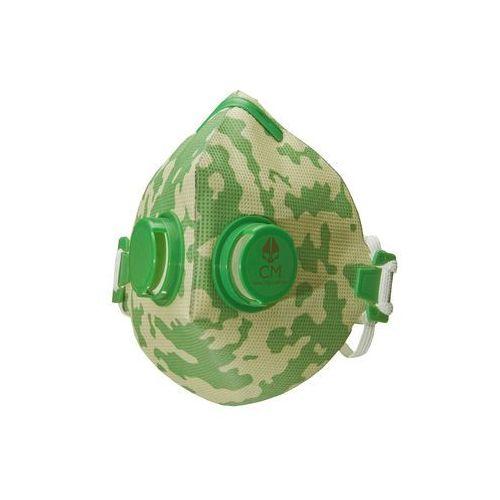Citymask Higieniczna półmaska antysmogowa z węglem aktywnym moro