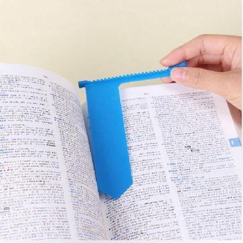 Suwakowa zakładka do książki - niebieska - niebieski