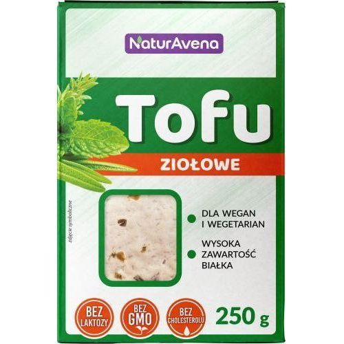 Tofu ziołowe kostka 250g - marki Naturavena
